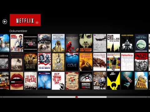 Review: Netflix On Windows 8 HD