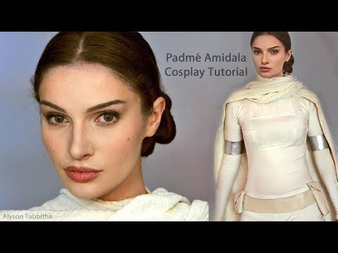 Padmé STAR WARS Makeup / Hair / Costume - Cosplay Tutorial