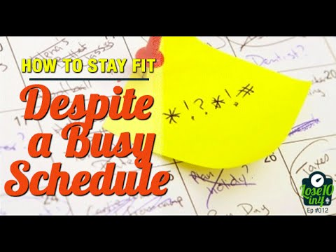 How to Develop Healthy Habits Despite an Erratic Schedule