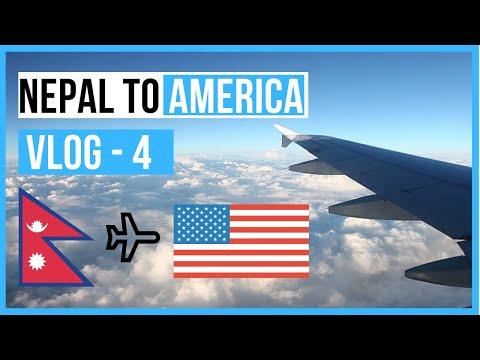 Nepal to USA || Travel Vlog - 4 || Nepali in USA