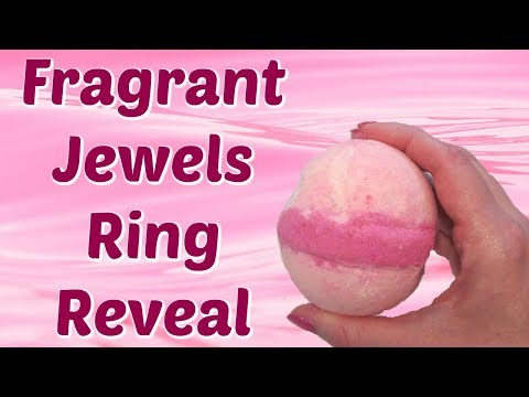 Fragrant Jewels Ring Reveal - Queen of Diamonds Bath Bomb!