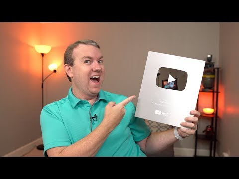 YouTube Silver Play Button Unboxing (100K Subscribers!!)