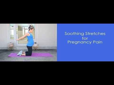 Soothing Stretches for Pregnancy Pain