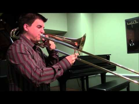 How to play the Trombone Slide Positions