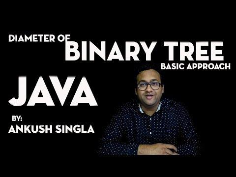 Diameter Of Binary Tree ( Basic Approach) - JAVA