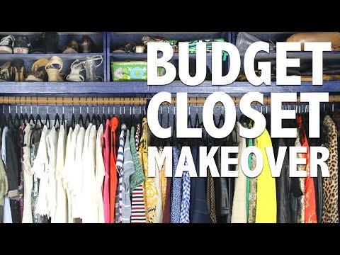 Budget Closet Makeover - HGTV Handmade