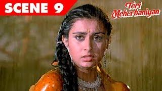 Teri Meherbaniyan | Jackie Shroff, Poonam Dhillon | Hindi Movie Rape Scene 9
