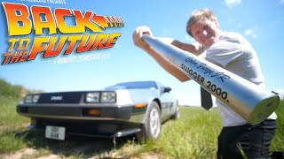I made Griffs Extendable Baseball Bat from BTTF 2 + Delorean DMC