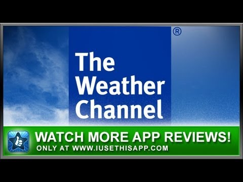 The Weather Channel iPhone App - Best iPhone App - App Reviews
