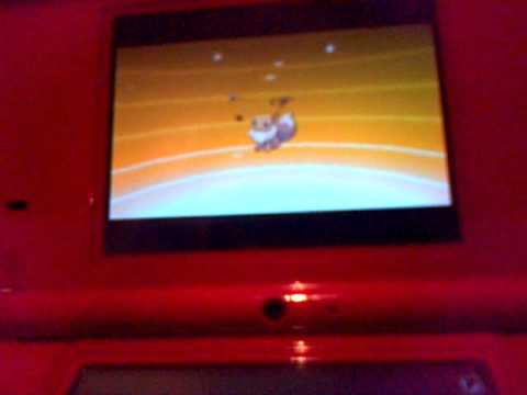 Pokemon Black and White 2: Evolving Eevee into vaporeon