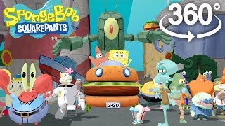 Spongebob Squarepants! - 360° Adventure Video! - (The First 3D VR Game Experience!)