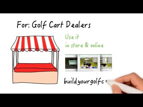 How to build a custom golf cart online?