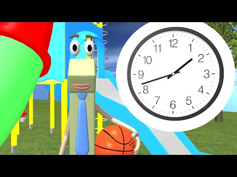 Telling Time to the Half Hour - 1st Grade