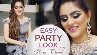 Easy Party Makeup Tutorial for Beginners | Step by Step Party Look Makeup Tutorial | Trendy Look