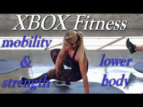 Xbox Fitness with Anja Garcia - Mobility & Strength 01 - Lower Body