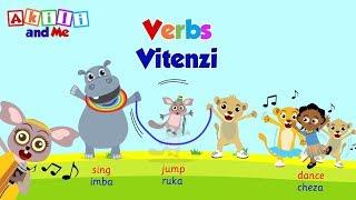Misamiati kwa Watoto   Akili and Me   Vitenzi kwa Kiswahili na Kiingereza