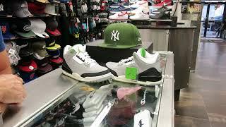 hot sale online 9ba3f ff9e7 Nike Air Jordan 3 Chlorophyll, at Street Gear Hempstead NY