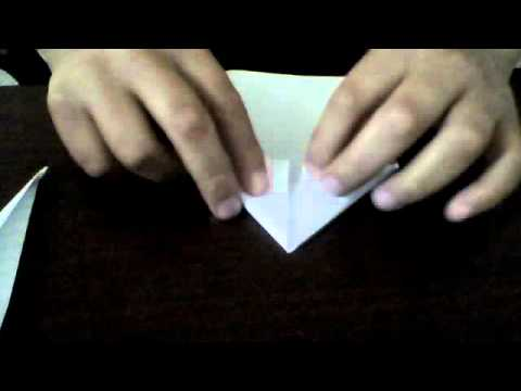 How to make a paper kunai knife from naruto shippuden