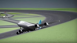 Circular runway: Dutch researchers propose circular runways for future airports - Compilation