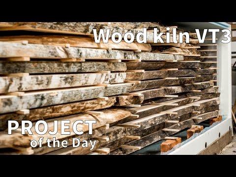 My Sauno VT3 wood kiln.