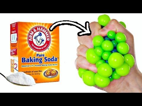 BAKING SODA STRESS BALLS | EASY DIY Squishy Toys for Kids