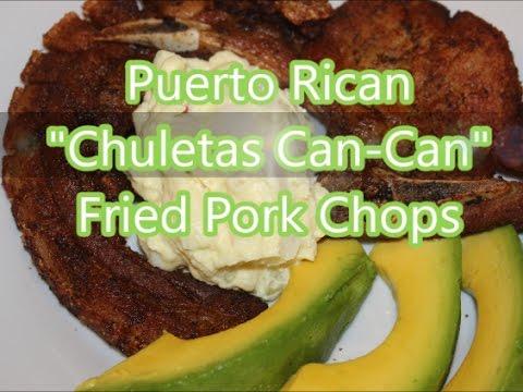 Pork - Puerto Rican Chuletas Can-Can - Deep Fried Pork Chops Recipe [Episode 186]