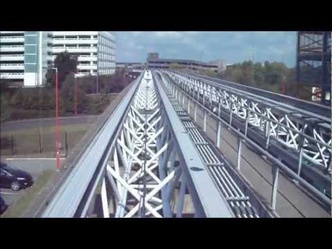 Air-Rail Link train journey at Birmingham International on 1/9/11