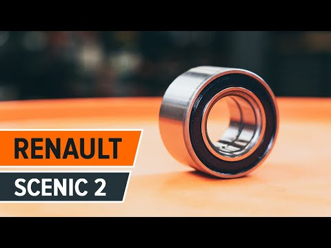 How to change a Rear wheel bearing RENAULT SCENIC 2 TUTORIAL | AUTODOC