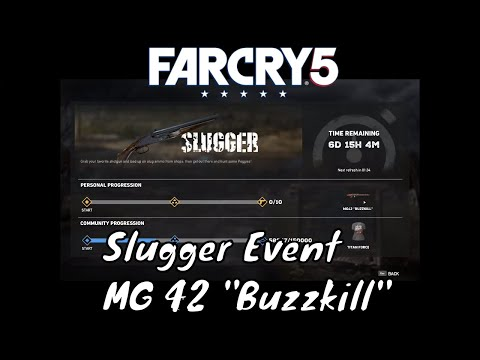 Far Cry 5 Live Events Slugger - MG42 Buzzkill Gun