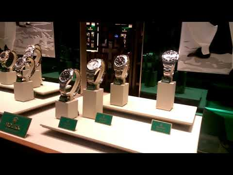 ROLEX PACIFIC FAIR - New Rolex Boutique on the Gold Coast, Queensland, AUSTRALIA