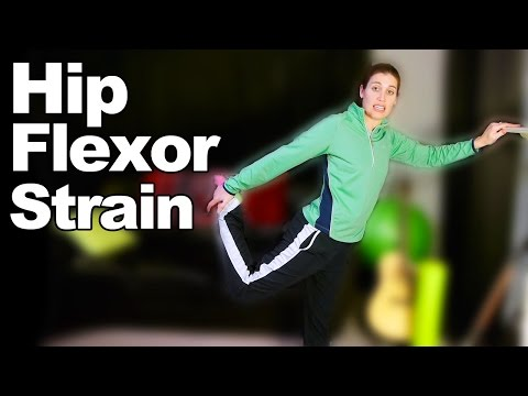Hip Flexor Strain Stretches & Exercises - Ask Doctor Jo