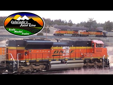 BNSF Train Action on Colorado's Joint Line