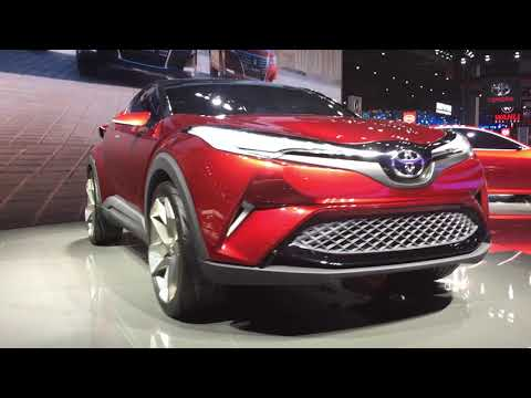 Newest Toyota's SUV 2018, C-HR crossover