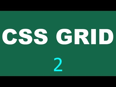 CSS Grid Tutorial - 2 - Add first section