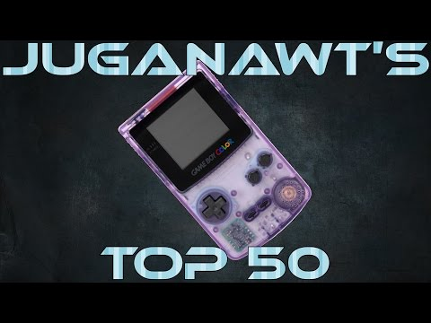 Top 50 Game Boy Color Games of All Time! In 1080p 60FPS