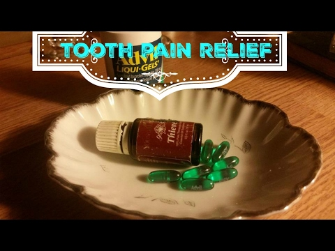 Budget tooth pain relief | Advil liquid gel