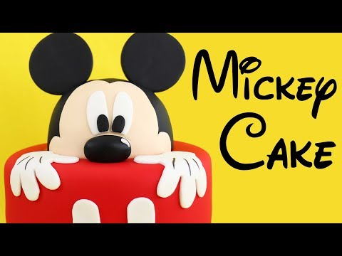 Disney MICKEY MOUSE Cake!