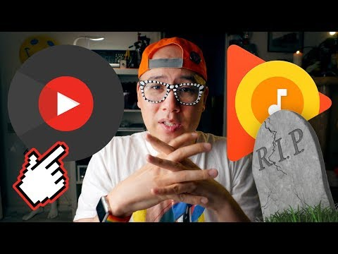 YOUTUBE MUSIC APP ✨ RIP Spotify & Apple Music?? 😱 NEW APP REVIEW for iPhone X/iOS (2018)