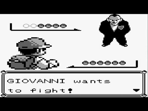 Pokémon Red and Blue - Team Rocket Boss Giovanni Battle Silph Co (Part 74)