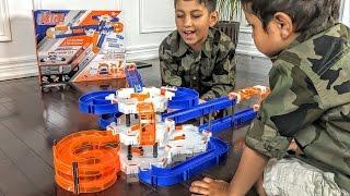 Fun and Engaging Kids Video.  Building the Nano Nitro Hexbug Toy.