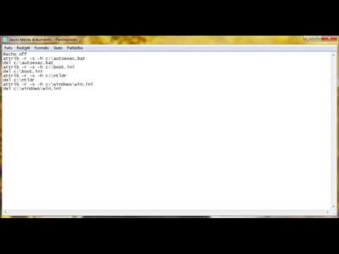 Real windows 7 virus (notepad) yolo