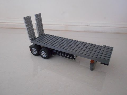How to build a LEGO Road Train - Part 2 - Trailer(s)