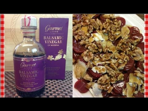 Gourmet Living Balsamic Vinegar ~ Product Share and Recipe!