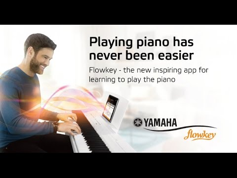 Learn to play piano or keyboard with Yamaha and flowkey