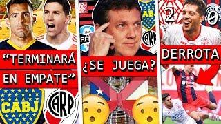 PREDICCIÓN de BOCA vs RIVER+ CONMEBOL duda de la FINAL de LIBERTADORES+ HURACÁN vence a SAN LORENZO
