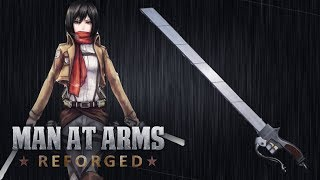 3D Maneuver Gear Sword - Attack on Titan - MAN AT ARMS: REFORGED