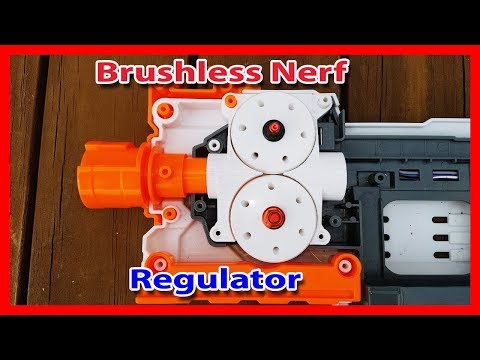 The Most Powerful Nerf Regulator Mod. Brushless Motor Cage. Part 3
