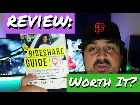 😇Review: The Rideshare Guide👍 by Harry the Rideshare Guy⭐⭐⭐⭐⭐