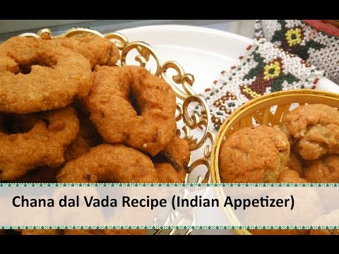 Chana Dal Vada Recipe | South Indian Cuisine | Indian Appetizer Recipes by Healthy Kadai