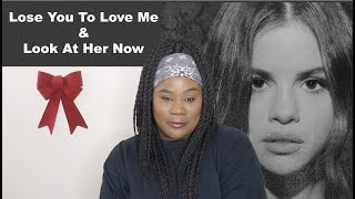 Selena Gomez - Lose You To Love Me & Look At Her Now |REACTION|